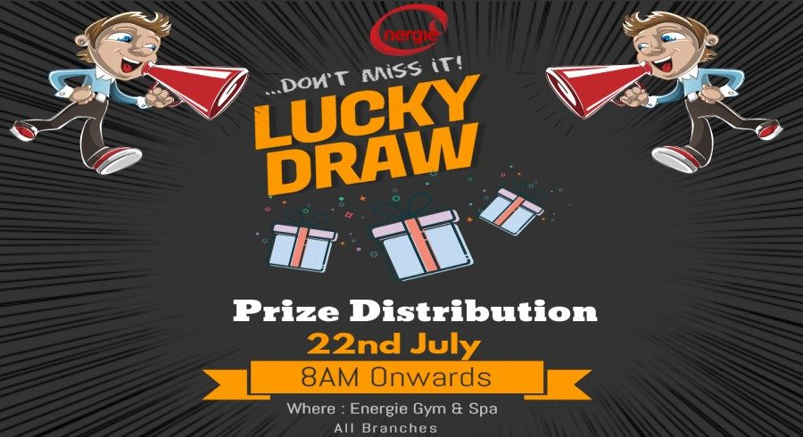 Copy of Lucky Draw Flyer - Made with PosterMyWall22
