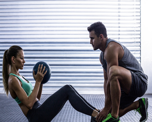 Get personal training by best of our experienced trainers